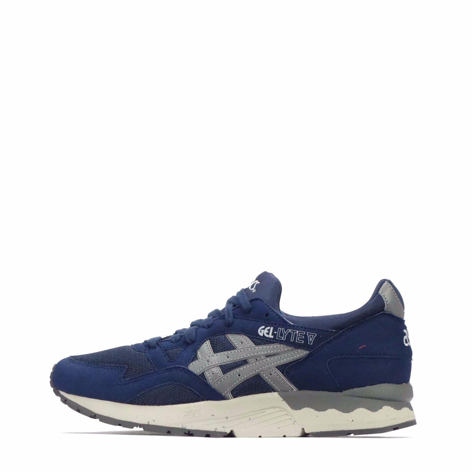 a5752b33c840d5 Asics Asics Asics Gel-Lyte V Men s Shoes Navy Soft Grey 5006ea ...