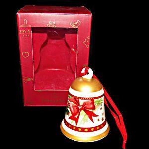 Retired-Villeroy-and-Boch-My-Christmas-Tree-Mistletoe-Bell-Christmas-Ornament