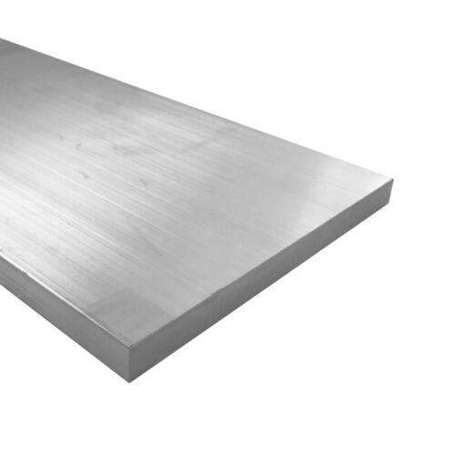 """6061 Plate 0.25/"""" 4/"""" Length 1//4/"""" x 8/"""" Aluminum Flat Bar T6511 Mill Stock"""