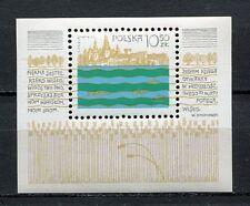 36108) POLAND 1981 MNH** Vistula River Project S/S