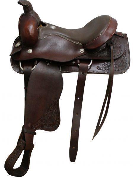 16Circle S  Roper Saddle.