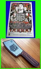New SLEEPING DOGS sdcc 2012 Exclusive Original Limited SQUARE ENIX Game POSTER