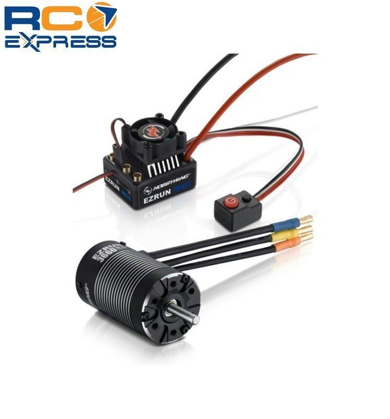 Hobbywing Ezrun Max10 Combo (2-3s) - Combo-A Max10-3652sl-3300kv HWI38010203