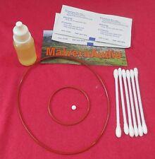 CUSCINETTO di ceramica Upgrade + olio + SILICON Motore & DRIVE BELT REGA PLANAR 2 & 3