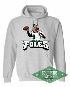 super popular 2597f 2875d Details about Super Bowl Nick Foles Eagles Underdog Hoodie Sweatshirt Mens  Philadelphia jersey
