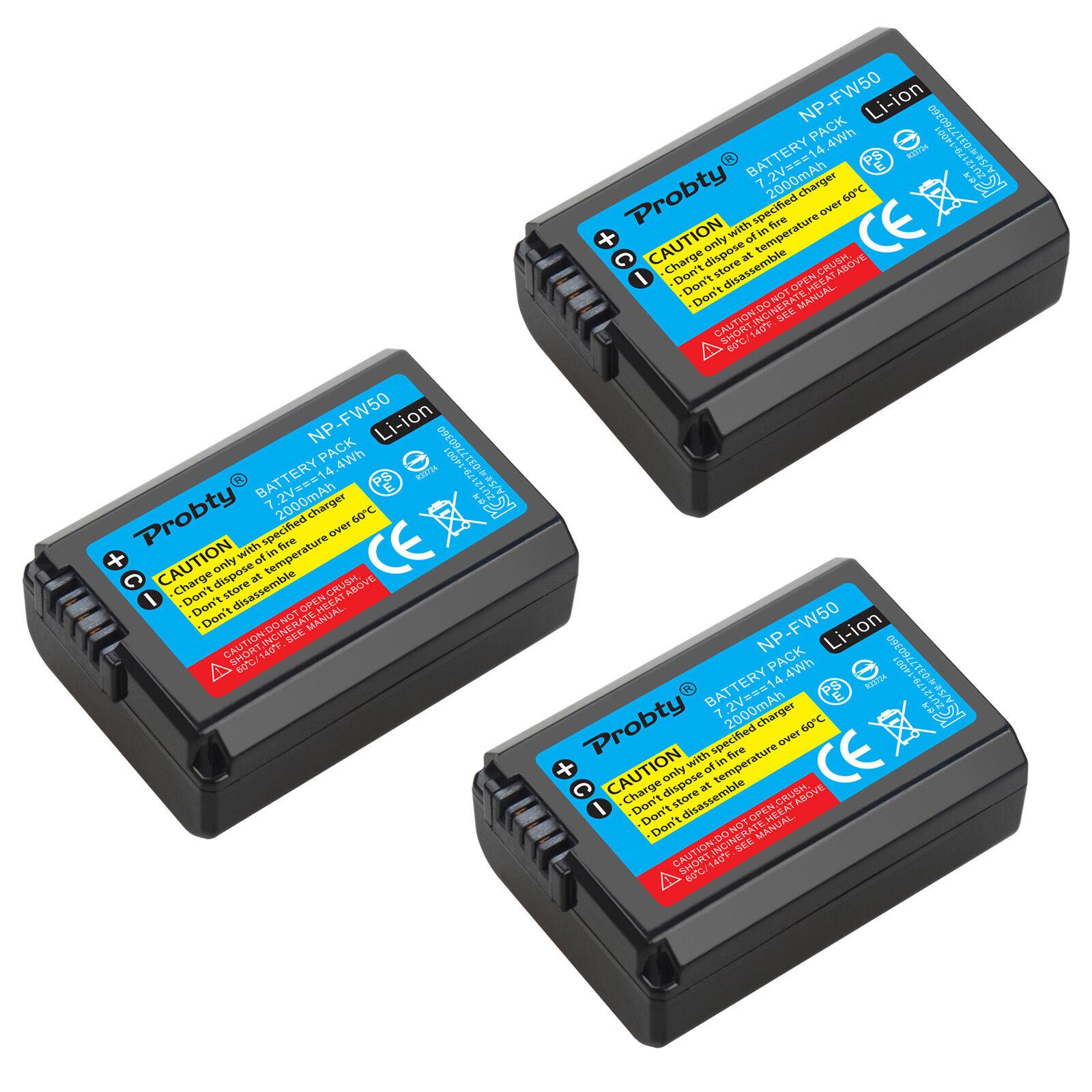 3 Batteries