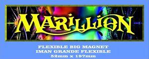 MARILLION-FISH-IMAN-GRANDE-52mm-X-197mm-FLEXIBLE-BIG-MAGNET-A0097