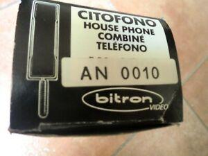Bitron Schemi Elettrici : Citofono bitron con modulo esterno ak e posti interni an