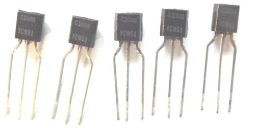 2SC1008  Marked C1008 Trans GP BJT NPN 60V 0.7A 3-Pin TO-92  x5pcs