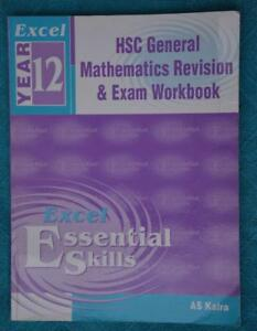 Excel-HSC-General-Mathematics-Revision-amp-Exam-Booklet-2010-EDITION-GR8-COND