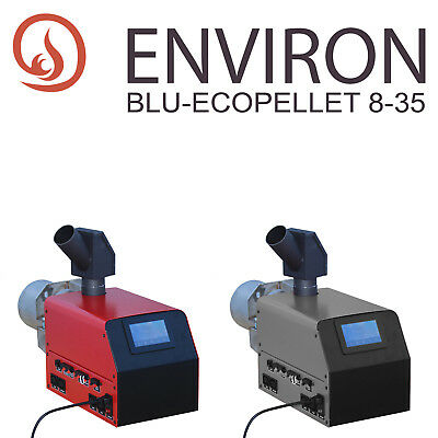 Freundschaftlich Environ Pelletbrenner Blue-ecopellet 8/35 Mit Farb-tocuh-display Heimwerker Brenner & Kessel