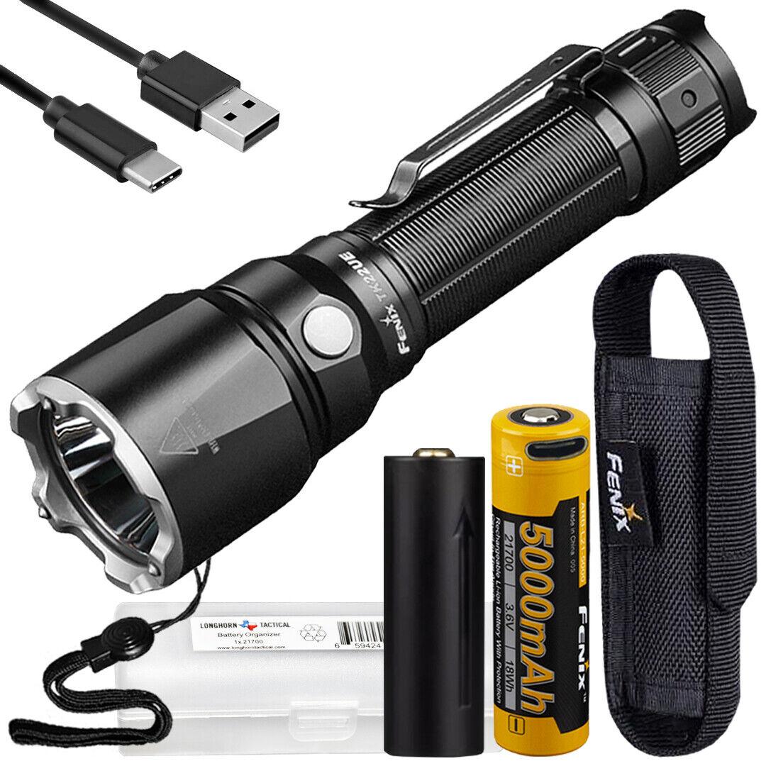 Fenix TK22UE Ultimate 1600 Lumen Tactical Flashlight with LumenTac Battery Case