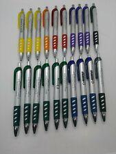 20 Pack Misprint Retractable Fat Barrel Rubber Grip Pen Pens Black Ink