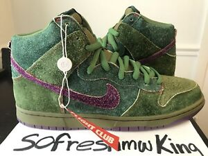 quality design d2865 ecf1b Image is loading Nike-SB-Dunk-High-Premium-2010-Todd-Bratrud-
