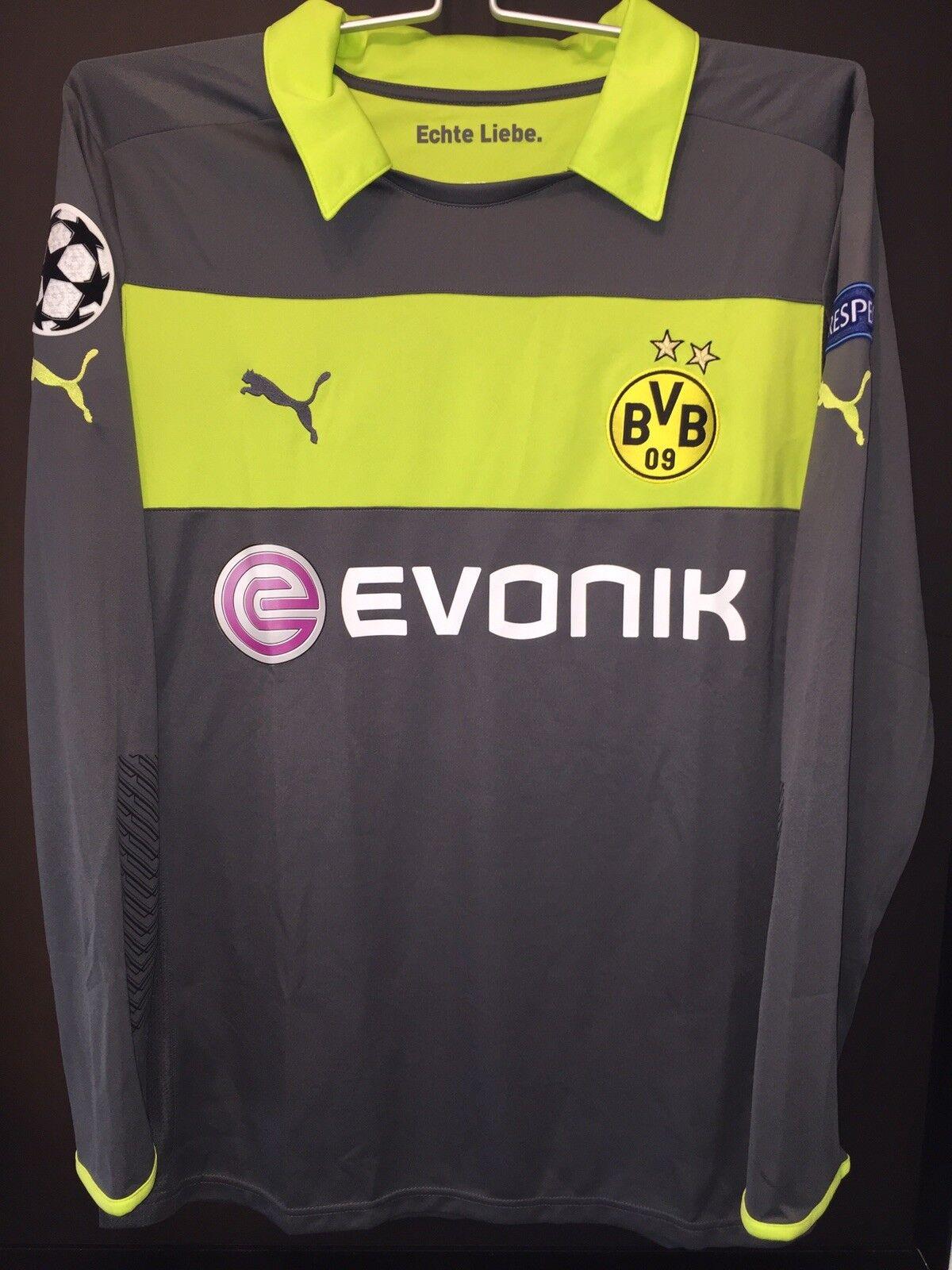 BVB Borussia Dortmund Trikot Weidenfeller 12/13 Champions  League Spielertrikot
