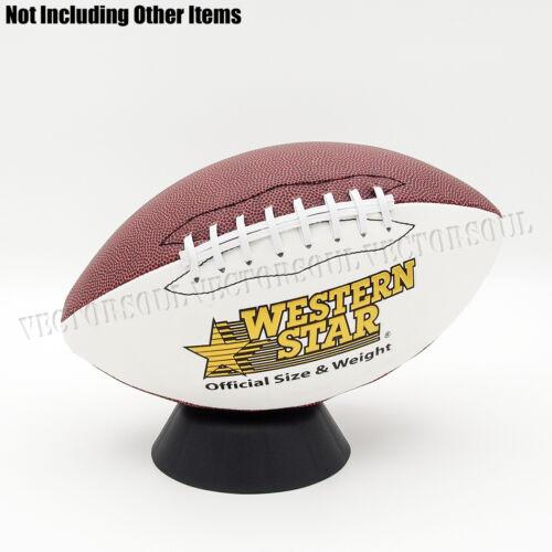 UK Black Plastic Ball Holder Display Stand Basketball Football Soccer Rugby