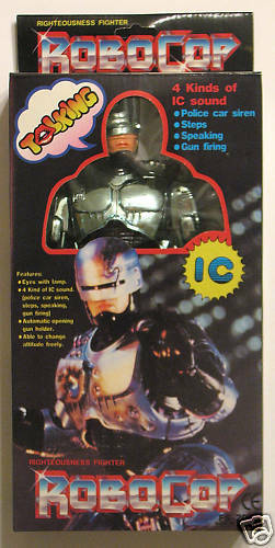 TALKING ROBOCOP Righteousness Fighter IC Sound Sound Sound Batt Op 19e457