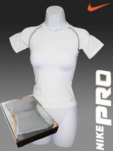 Nike-pro-Ventilacion-Base-Capas-Camiseta-de-Compresion-Ladies-Large