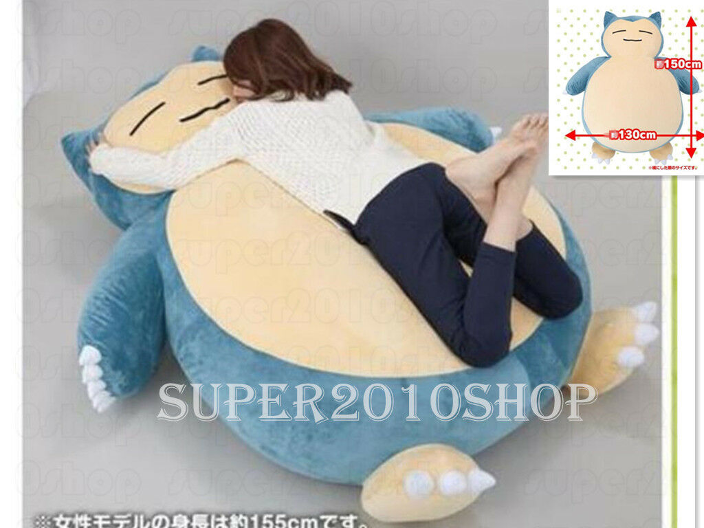 12''59''Birthday Snorlax Stuffed Plush Kabigon Doll Handmade Pillow Toys gift