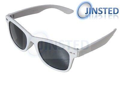 Kinder Weiße Sonnenbrille Mädchen Jungen Kinder Klein Schirm Sunnies Kr001 Weich Und Leicht