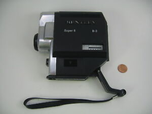 Vintage-Bentley-B-3-Super-8-Film-Camera-F-13mm-Lens-parts