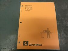Ditch Witch T14a Trailer Parts Book Manual 050 688