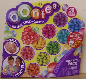 Oonies-Mega-Refill-Pack-Inc-90-Oonies-Pellets-Inflate-Stick-amp-Create