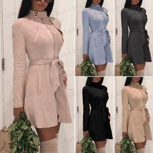 Womens-Winter-Zipper-Hooded-Hoodie-Jacket-Coat-Casual-Long-Sleeve-Tops-Outwear