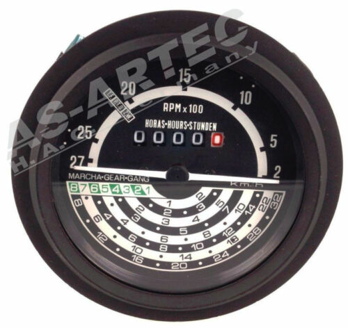 JD-1535 John Deere 20+30 Serie Traktormeter AL30802 32km//h