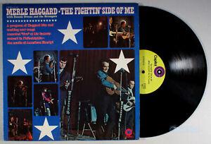 Merle Haggard - The Fightin' Side of Me (1970) Vinyl LP • Okie From Muskogee