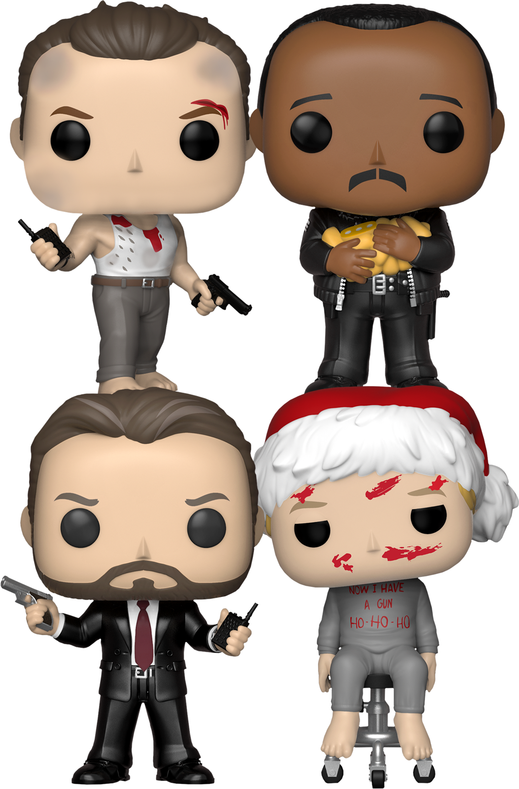 FUNKO POP   Die Hard - Yippee Ki-Yay Motherfunker (Set of 4)