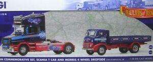 Stan-Robinson-Commemorativa-Set-Scania-T-Cab-and-Morris-4-Cerchi