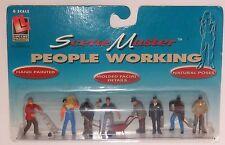 LIFE LIKE WORKING PEOPLE # 1860 O scale On30 On3 1/43 People  Figures