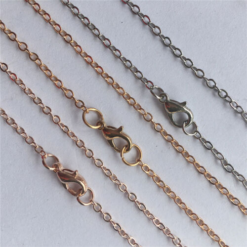 5pcs 4 Colors 50CM  Iron Cable Open Chain Jewelry DIY  Finding Chain Whole Udww