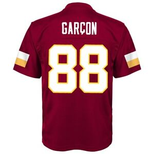 Details about Pierre Garcon NFL Washington Redskins Mid Tier Replica Home Jersey Boys SZ (4-7)