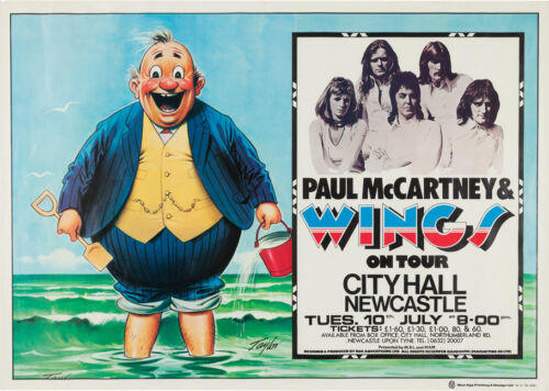 "Paul McCartney /& Wings Poster Replica 13 x 19/"" Photo Print 1973 Beatles"