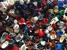 ☀️NEW Authentic Lego Minifigure Parts Helmet Hair Hats (15 Lego Parts)