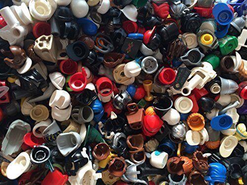 ☀️NEW Authentic Lego Minifigure Parts Helmet Hair Hats 15 Lego Parts