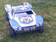 Losi 5ive T Dodge Motorsports Theme  body wrap decals stickers BIG FLEX ROVAN