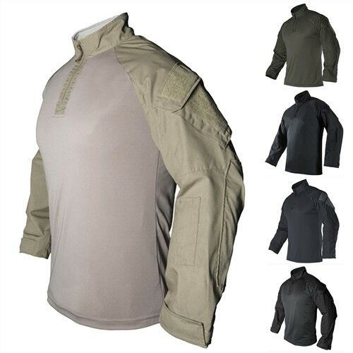 greenx RECON Long Sleeve Combat Military Police Patrol Security Shirt