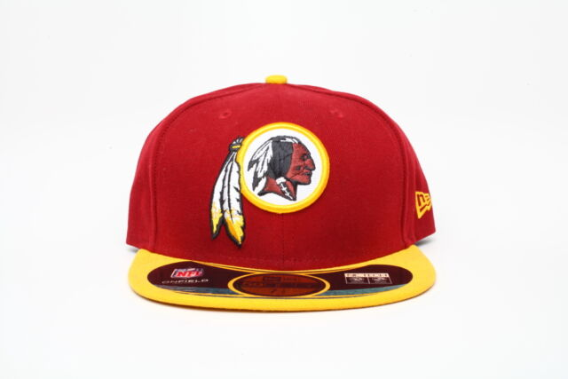 Picture 1 of 2  Picture 2 of 2. Washington Redskins New Era 59fifty NFL Sz 7  3 4 7db8f8f9fc70