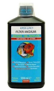 1000 ml easy life fl ssiges filtermedium 1 liter das original ebay. Black Bedroom Furniture Sets. Home Design Ideas