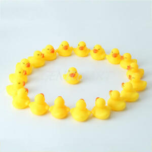 20pcs-Mini-Yellow-Rubber-Ducks-Bathtime-Squeaky-Bath-Toy-Water-Play-Kids-Toddler