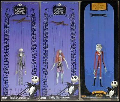 Tim Burton Nightmare Before Christmas Figure LOT Jun Jack Sally Toy Trading NEW