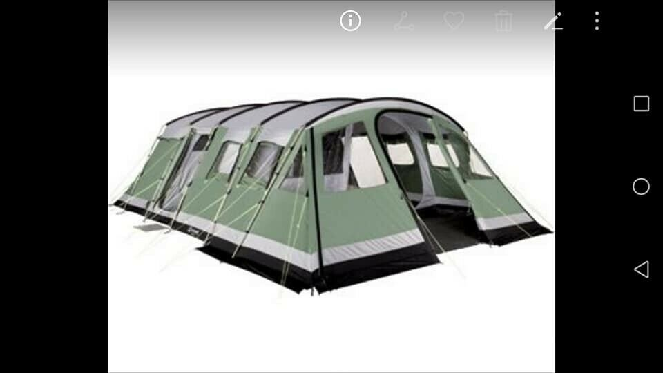 6 8 Berth Family Tent --Outwell Vermont XL