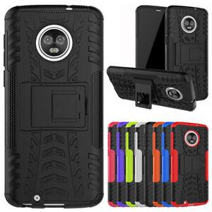 Pour-Motorola-Moto-G6-G6-Plus-Etui-Antichoc-Hybride-Armure-Bequille-Telephone
