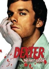 Dexter -The Complete 1s First Season (DVD, 2007, 4-Disc Set) Police Drama Series