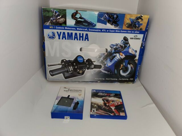 NEW MOTOGP 14 YAMAHA MS-1 MOTORCROSS MOTORCYCLE CONTROLLER FOR PLAYSTATION 4 PS4