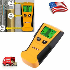 US-3in1-LCD-Stud-Wood-Wall-Center-Finder-Scanner-Metal-AC-Live-Wire-Detector-New