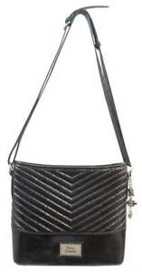 Harley-Davidson-Women-039-s-Black-Quilted-Chevron-Bucket-Hand-bag-Purse-CQ5518S